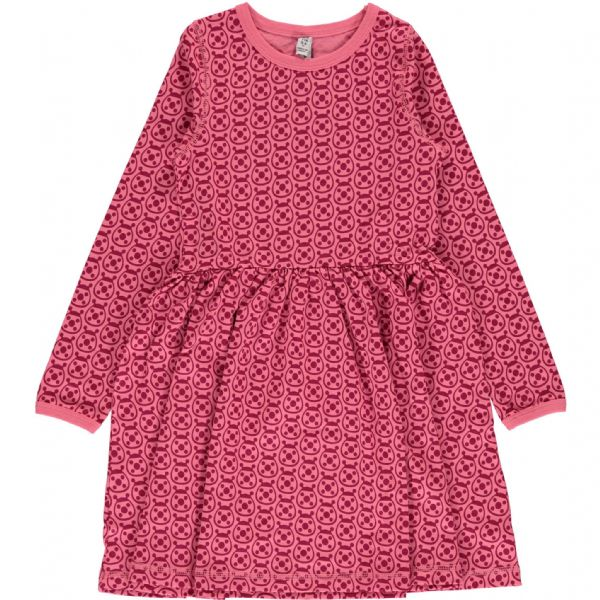 Maxomorra Long Sleeve Spin Dress Ladybug